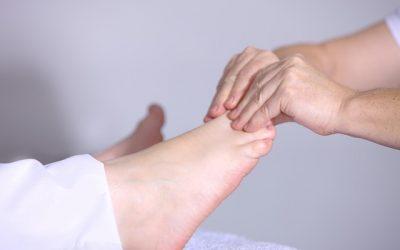 How a Rwo Shur Foot Reflexology Session Begins
